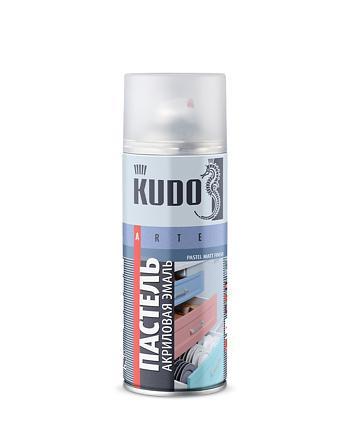 Эмаль универсальная акриловая быстросохнущая пастельная матовая KUDO KU-A10x