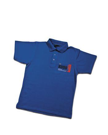 Рубашка-поло синяя KUDO