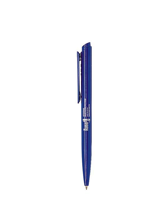 Ручка шариковая синяя KUDO
