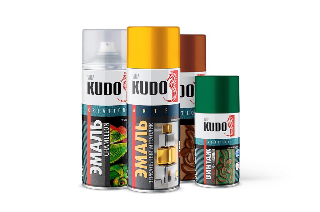 Дизайнерская серия KUDO. Идеи для творчества!