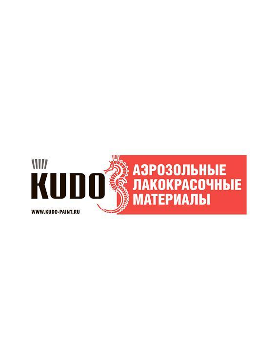 Наклейка на стойку Аэрозольные эмали KUDO